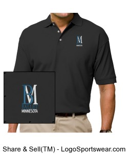 Men's Embroidered Polo Shirt Design Zoom